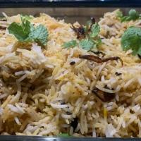 Easy Hyderabad chicken dum biryani