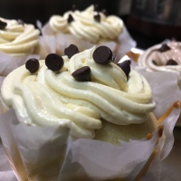 Classic vanilla cupcakes with smooth and silky buttercream