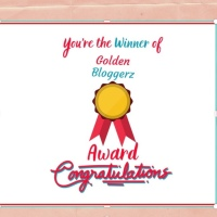 Golden Bloggerz award!