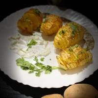 Hasselback potatoes!🥔