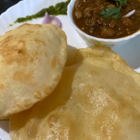 Vacation series: episode#7: Chole bhature, North Indian favourite!