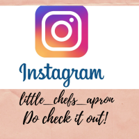 LITTLE CHEF'S APRON on Instagram!!