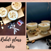 Rabdi glass cakes : Ganesh Chaturthi special!