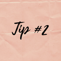 Cooking tip series #2