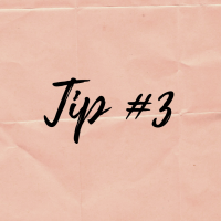 Cooking tip series #3
